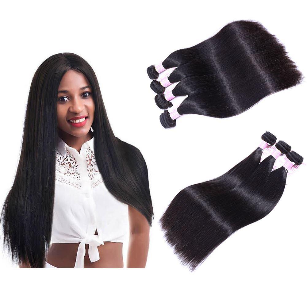 straight hair 4 bundles