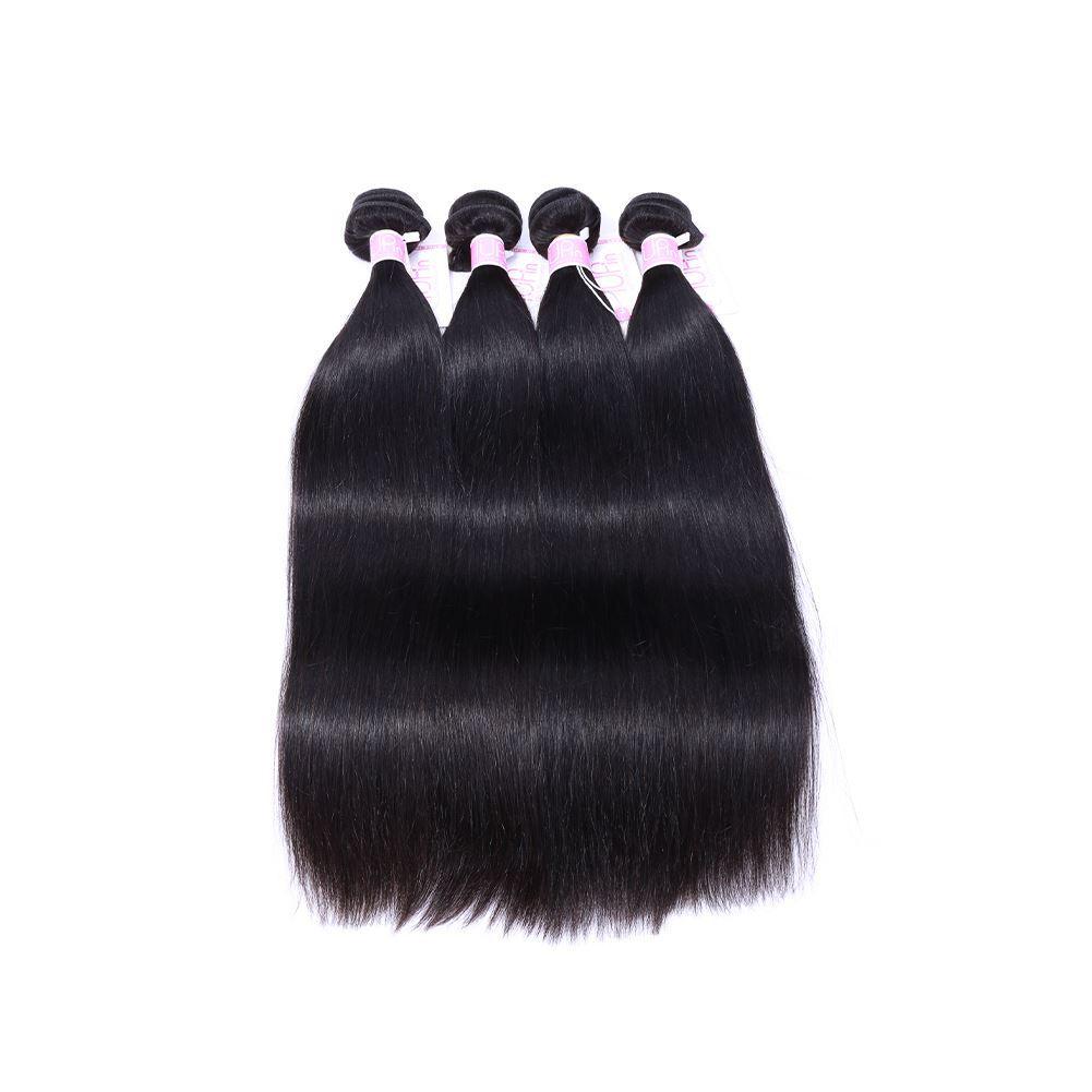peruvian straight hair 4 bundles