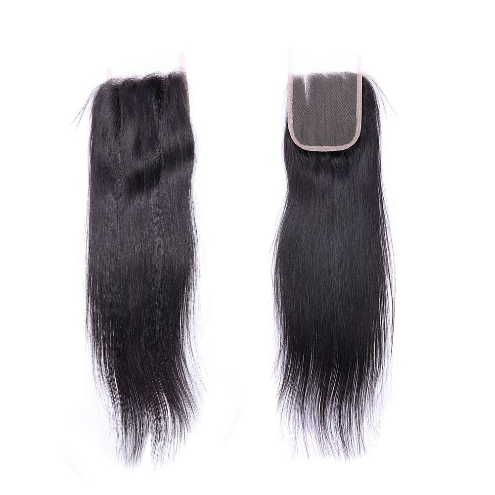 straight hair lace closure