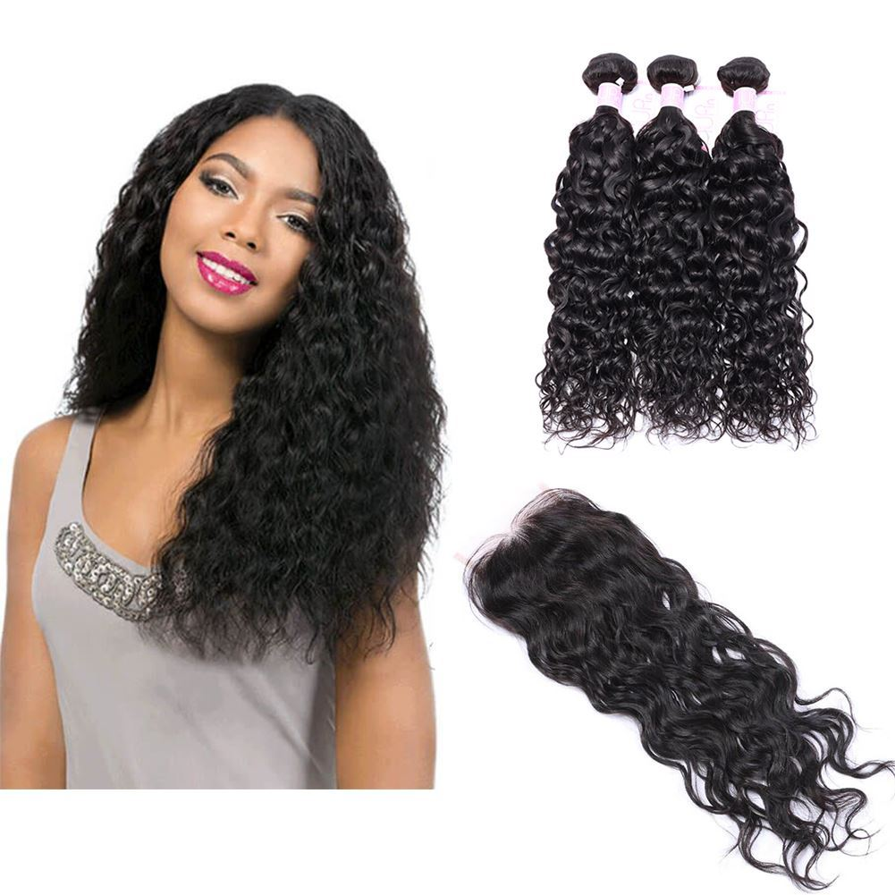 water wave bundles with closure