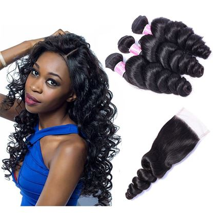 loose wave bundles with closure