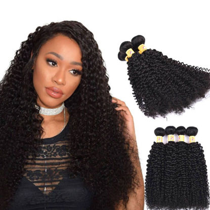 curly hair 4 bundles
