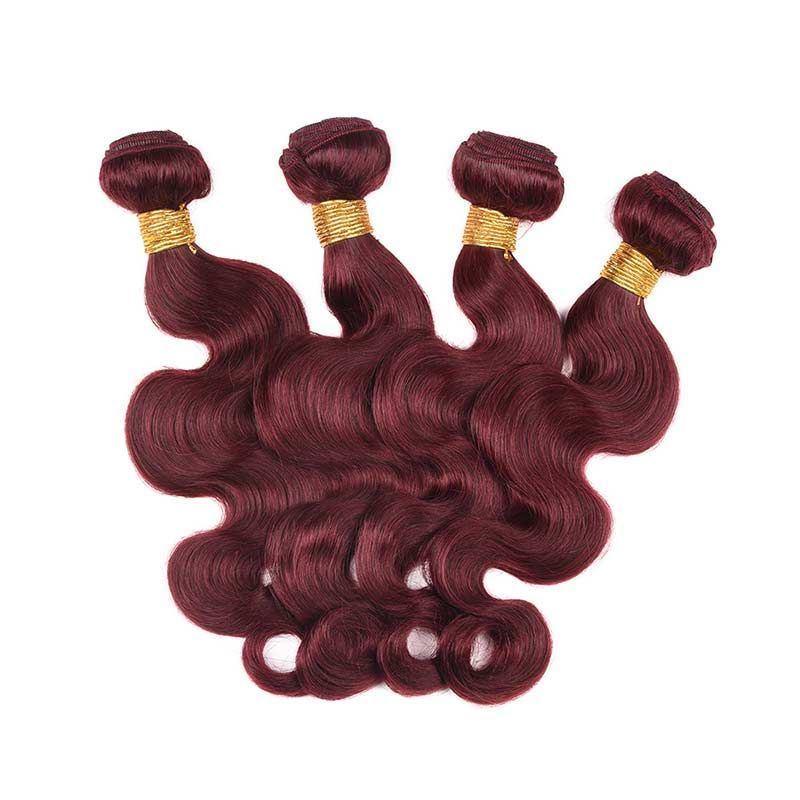 99J 4 bundles body wave human hair