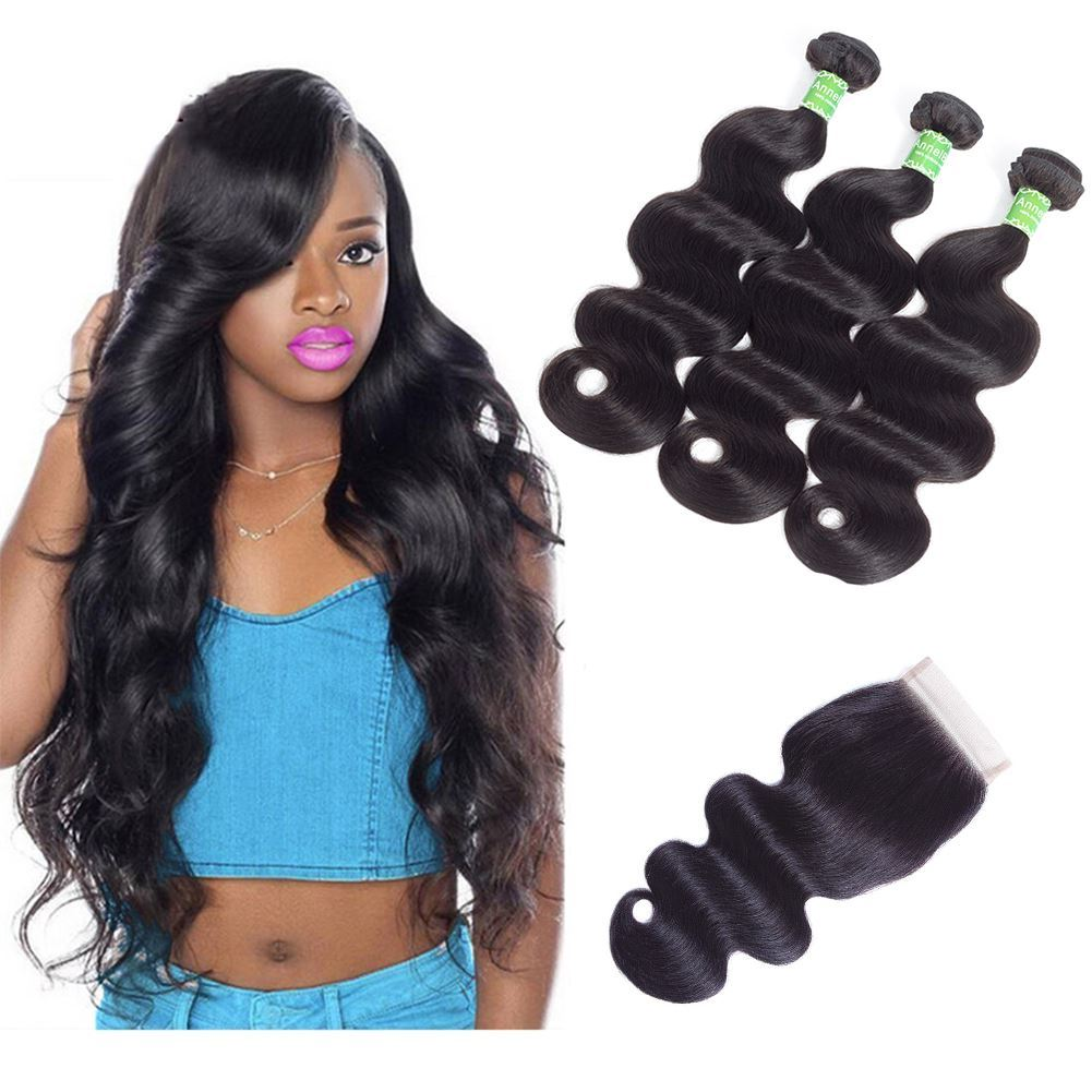 body wave bundles with closure