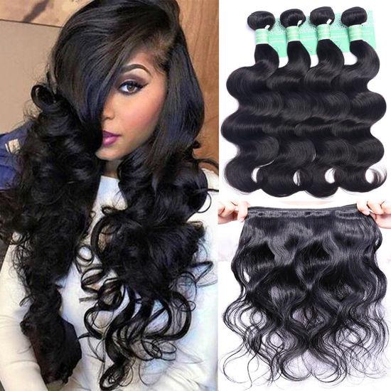 ANNELBEL Brazilian Hair Body Wave 4 Bundles