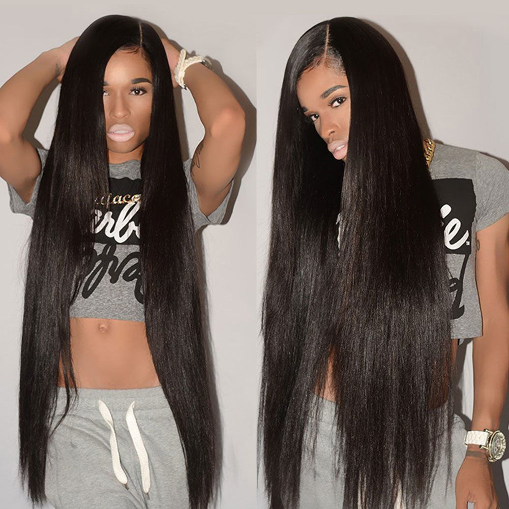 Brazilian Hair Bundles Virgin Unprocessed Straight Human Hair Brazilian Straight Hair