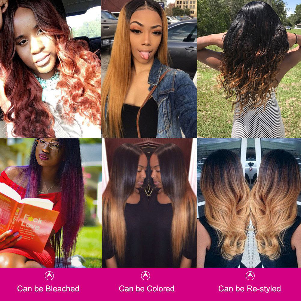 Brazilian Straight Virgin Hair Bundles Unprocessed  Remy Hair Brazilian Straight Hair