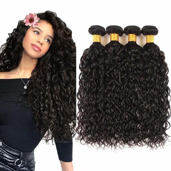 Brazilian Virgin Hair Water Wave Bundles Unprocessed Human Hair Extensions Wholesale Hair Water Wave