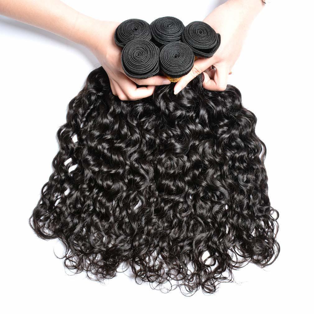 Brazilian Virgin Hair Water Wave Bundles Virgin Unprocessed Human Hair Extensions Water Wave Wholesale Hair