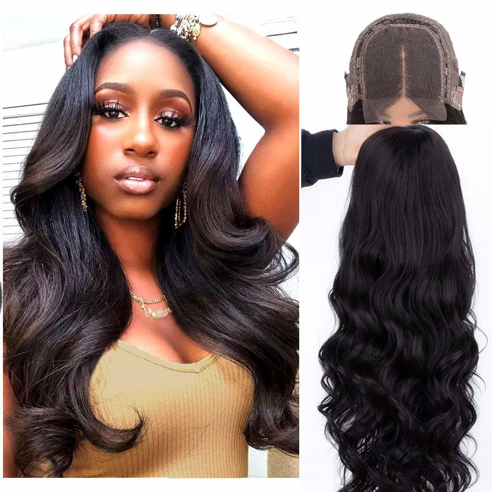Remy Human Hair Wigs Body Wave Lace Closure Wig Human Hair 4×4 Lace Closure Wig for Black Women 7