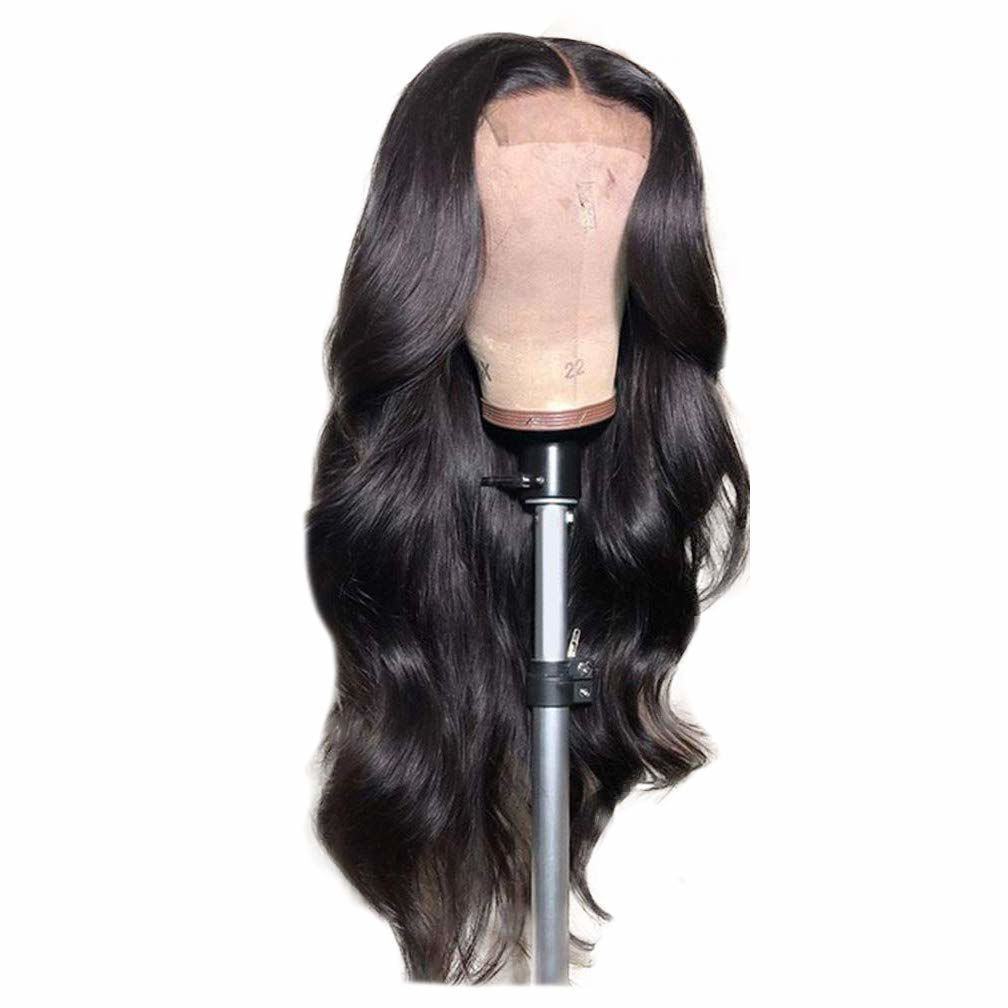 Wigs Human Hair Lace Closure Wig Body wave Deep Wave Bundles Straight Wig Virgin Hair for Black Women 2