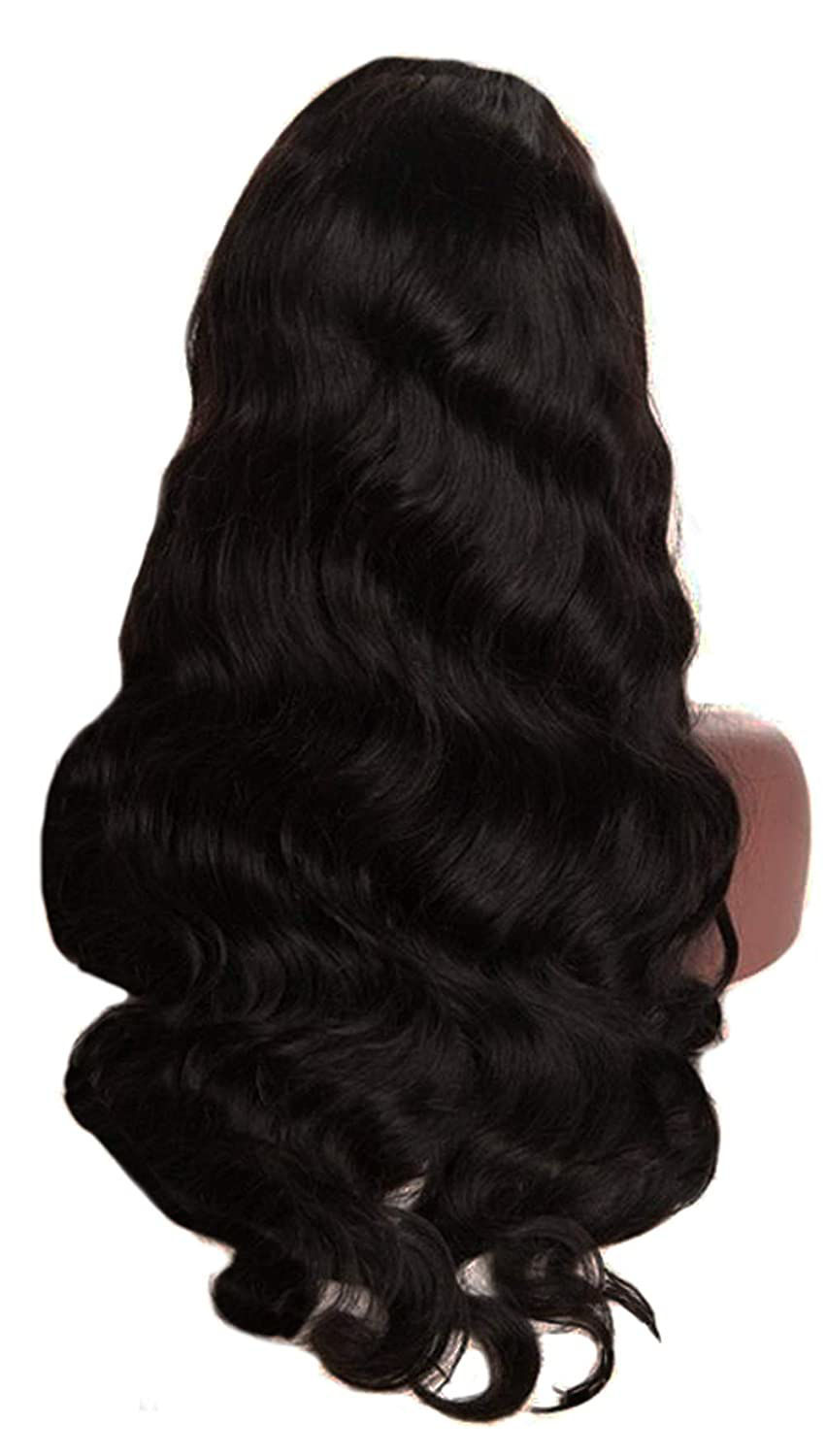 Wigs Human Hair Lace Closure Wig Body wave Deep Wave Bundles Straight Wig Virgin Hair for Black Women 3