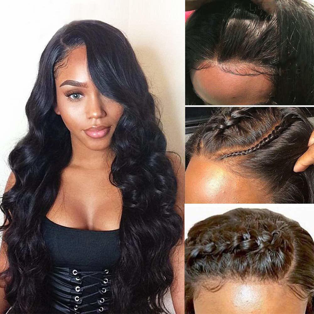 360 Body Wave Lace Frontal Wigs Human Hair Brazilian Black Women 150% Density Pre Plucked With Baby Hair Unprocessed Virgin Human Hair 5.jpg